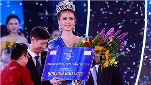 Nguyễn Thị Kim Ngọc đăng quang Hoa hậu Biển Việt Nam toàn cầu 2018