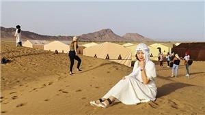 'Bình minh ở Sahara' - tác phẩm du ký mới của Di Li ra mắt