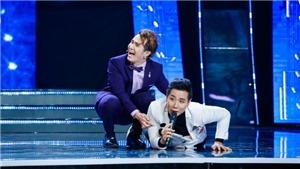 Tập 6 'Tuyệt đỉnh song ca nhí': Huỳnh Lập bất ngờ 'tát' MC Nguyên Khang ngã lăn xuống sàn