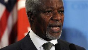 Tổng thống Ghana tuyên bố quốc tang 1 tuần tưởng nhớ ông Kofi Annan
