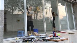 Hơn 700 hộ gia đình đã trở về chung cư Carina Plaza sau vụ cháy