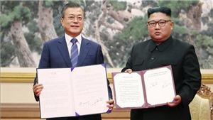 VIDEO: Thỏa thuận quân sự liên Triều chính thức có hiệu lực