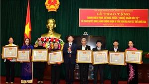 Thay đổi thành viên Hội đồng cấp Nhà nước xét tặng danh hiệu 'NNND', 'NNƯT' trong lĩnh vực di sản văn hóa phi vật thể lần thứ hai