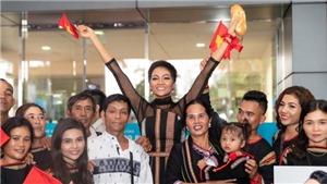 Trở về từ Miss Universe 2018, H'Hen Niê dành 100% tiền thưởng 'nóng' làm từ thiện