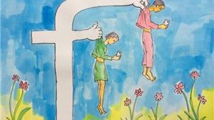 Chùm tranh biếm họa dự thi của họa sĩ Đặng Thiện Chân