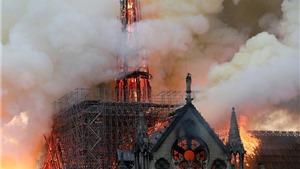 Vụ cháy Nhà thờ Đức Bà Paris: Tìm thấy tượng gà trống trên tháp Mũi Tên