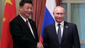 Nga - Trung sẽ tăng cường hợp tác chiến lược để bảo vệ ổn định khu vực và toàn cầu