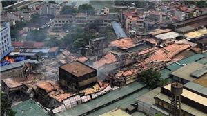 Vụ cháy lớn tại Công ty bóng đèn phích nước Rạng Đông: Kết quả phân tích môi trường xung quanh khu vực xảy cháy