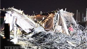 Vụ sập công trình xây dựng tại Công ty CP thương mại Minh Tân (Hải Phòng): Khởi tố vụ án