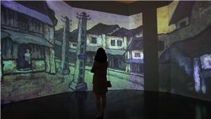 Tái hiện 200 tranh 'Bùi Xuân Phái với Hà Nội' bằng công nghệ mới