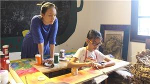 Hai cô trò làm triển lãm 'Thai Nguyen' sau 4 năm quen biết nhau