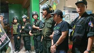 Đồng Nai: Hàng trăm cảnh sát bao vây, khống chế nhiều đối tượng gây rối