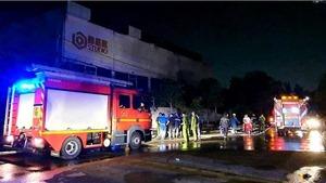 Thành phố Hồ Chí Minh: Cháy tại phim trường Nhà Bè, thiêu rụi nhiều tài sản