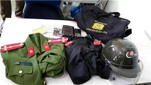 Bình Dương: Làm rõ và xử lý nghiêm đối tượng có hành vi mặc quân phục, quân hàm của công an