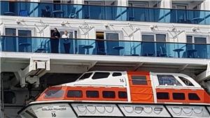 Dịch COVID-19: Hàng nghìn hành khách mắc kẹt trên du thuyền ở New Zealand do có ca nghi nhiễm