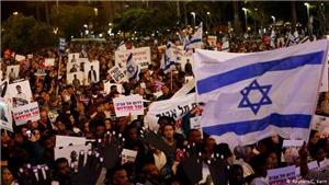 Israel: Hàng nghìn người biểu tình phản đối kế hoạch sáp nhập khu Bờ Tây