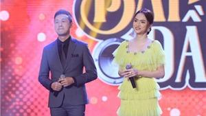 Hương Giang dẫn 'Bài hát đầu tiên' cùng MC Anh Tuấn