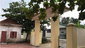 Nghệ An: Sập cổng trường làm một học sinh lớp 3 bị thương