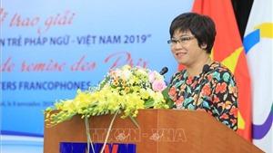 Trao giải thưởng cuộc thi Phóng viên trẻ Pháp ngữ-Việt Nam 2020