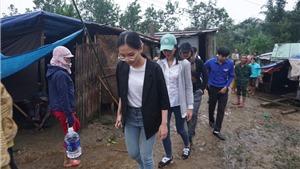Hoa hậu Việt Nam 2020 đi thiện nguyện ở Quảng Nam