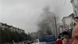 Nổ siêu thị ở Vladikavkaz (Nga), nhiều người bị thương