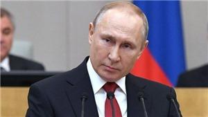 Thượng viện Nga thông qua dự luật cho phép Tổng thống Vladimir Putin tái tranh cử