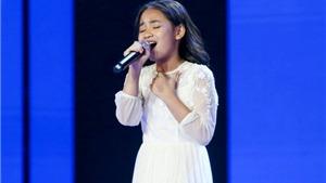 'Giọng hát Việt nhí':Hà Anh,Thùy Trang,Song Tùng,Đăng Bách vào chung kết