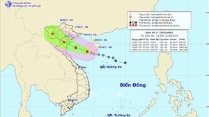 Bão số 2 vào Vịnh Bắc Bộ, gió giật cấp 10, mưa to từ Thanh Hoá đến Huế