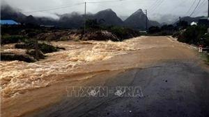 Bão số 2 gây mưa lớn kéo dài ở Tây Bắc Bắc Bộ đến hết ngày 14/6