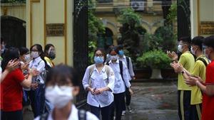 Kỳ thi tuyển sinh lớp 10 tại Hà Nội: Vắng 278 thí sinh trong buổi thi sáng 13/6