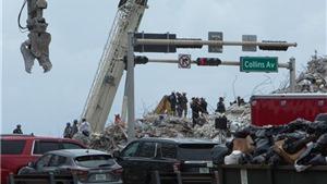 Sập nhà ở Mỹ: Số người thiệt mạng tiếp tục tăng, hàng chục người vẫn mất tích