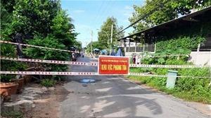 An Giang: Xã Khánh Bình thực hiện giãn cách theo Chỉ thị số 15