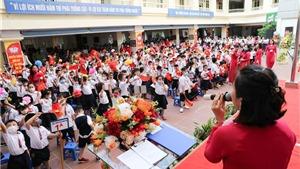 Học sinh các cấp học ở Hà Nội sẽ tựu trường sớm nhất vào ngày 1/9
