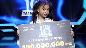 Cô bé đu dây 5 tuổi nhận giải ấn tượng 'Siêu tài năng nhí' mùa 2