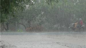 Vùng núi và trung du Bắc Bộ có mưa rất to về đêm và sáng