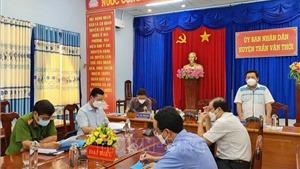 Chủ tịch UBND huyện Trần Văn Thời thông tin về việc tiêu hủy đàn chó, mèo