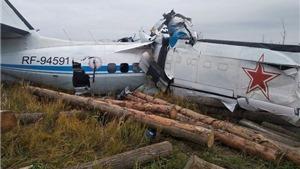 Vụ rơi máy bay tại Nga: Tổng cộng có 16 người thiệt mạng