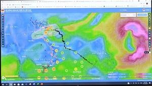 Bão số 7 đã suy yếu thành áp thấp nhiệt đới, bão Kompasu khả năng mạnh thêm