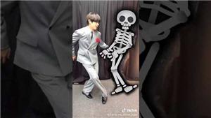 VIDEO: ARMY 'bấn loạn' với clip TikTok chúc mừng Halloween lầy lội của BTS