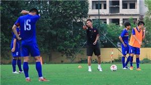 U20 Việt Nam tập với flycam, thầy Tuấn đòi hỏi cực cao ở học trò