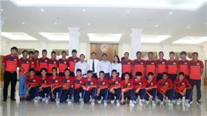 Tuyển thủ U17 Việt Nam lập siêu phẩm như sao Liverpool