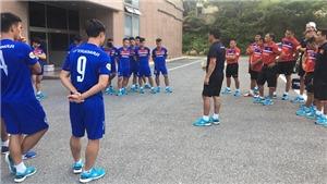 U22 Việt Nam nghỉ tập, chờ đá giao hữu với Mokpo City