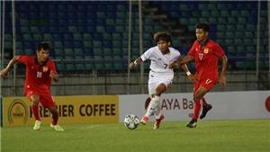 U18 Thái Lan suýt hòa Lào ở lượt trận thứ hai giải U18 Đông Nam Á 2017