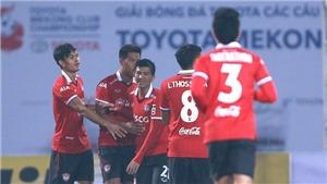 S.Khánh Hòa phải bỏ lối đá hoa mỹ vì Muangthong United quá mạnh