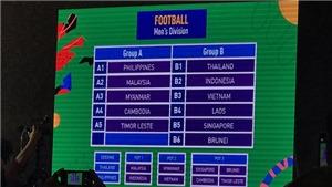 VIDEO bóng đá Việt Nam: Trực tiếp Indonesia vs Việt Nam. U22 Việt Nam cùng bảng tử thần với Thái Lan