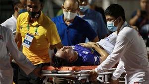 HLV Park Hang Seo chết lặng khi thấy chấn thương của Hùng Dũng