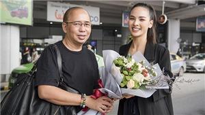 Quỳnh Nga tập luyện với chuyên gia từng giúp Philippines đăng quang Miss Universe