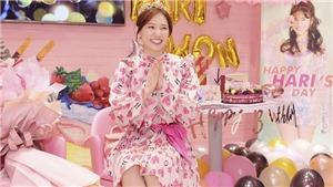 Hari Won hạnh phúc khi được fan mừng sinh nhật tuổi 35