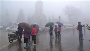 Thời tiết tại Sa Pa bất ngờ chuyển rét đậm, rét hại