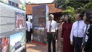 Triển lãm 'Hà Nội - Huế - Sài Gòn: Truyền thống và phát triển' nhân 60 năm kết nghĩa Hà Nội - Huế - Sài Gòn